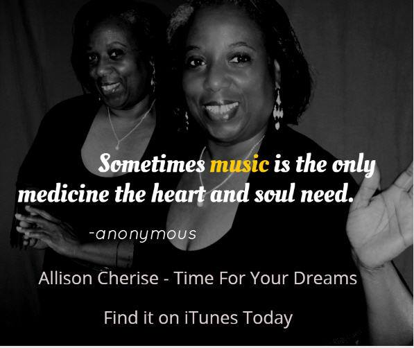 Allison Cherise on iTunes